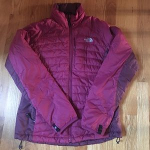 North Face Jacket size medium Berry color